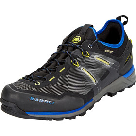Mammut Alnasca Knit Low GTX Shoes Herren black-ultramarine